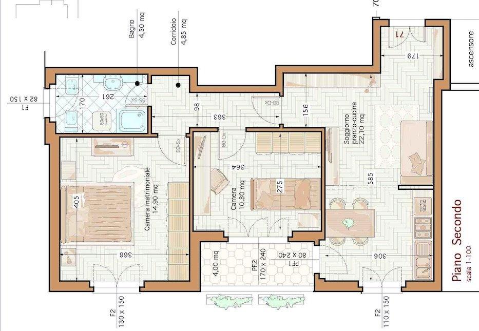 Appartamento in Vendita a Subbiano