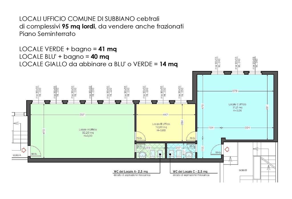 Ufficio / Studio in vendita a Subbiano, 9999 locali, prezzo € 35.000 | Cambio Casa.it