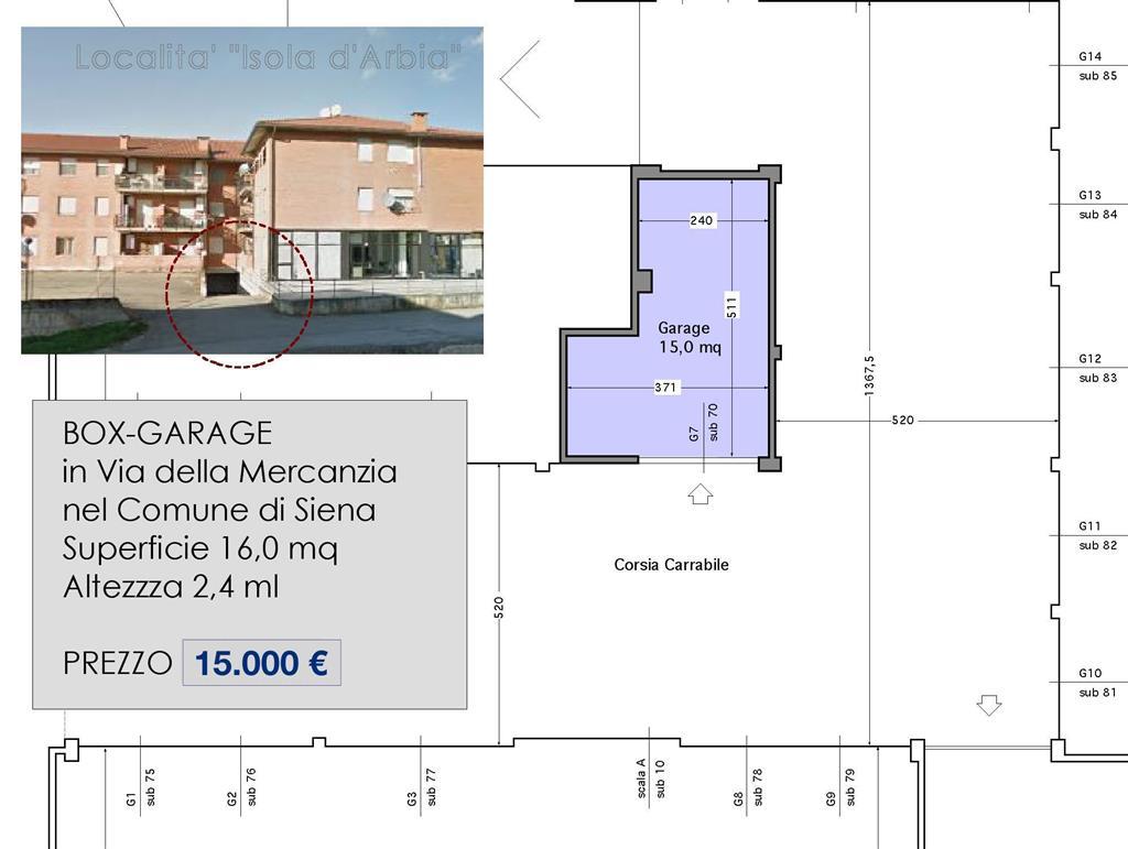 Box / Garage in vendita a Siena, 1 locali, zona Località: ISOLA ARBIA, prezzo € 15.000 | Cambio Casa.it