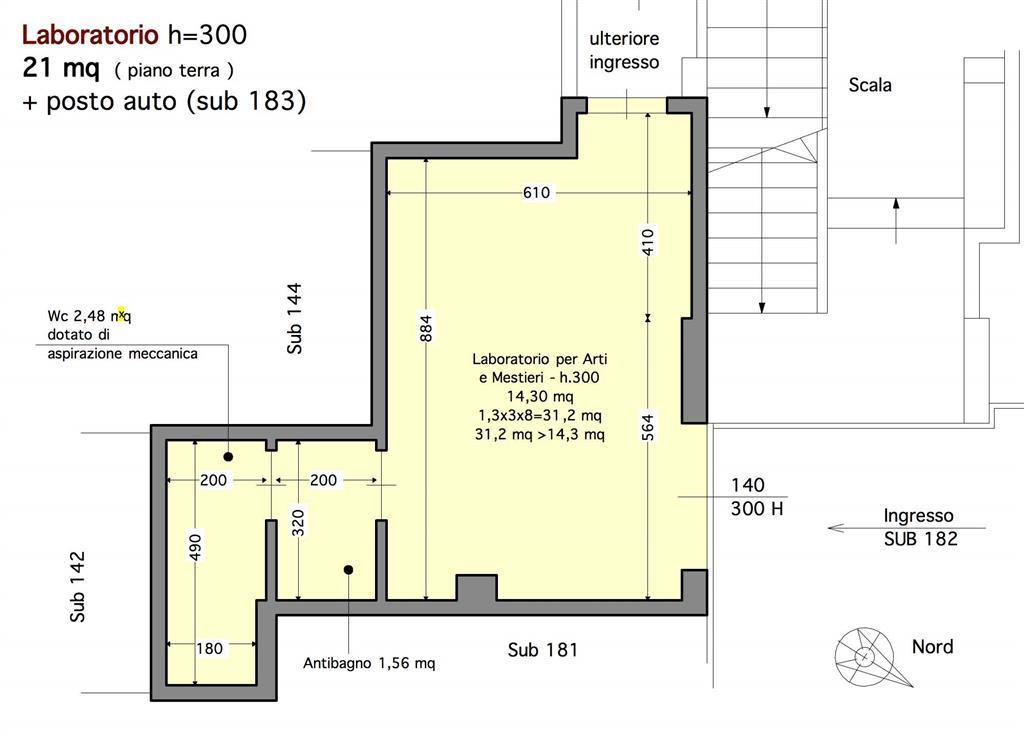 Laboratorio in vendita a Siena, 1 locali, zona Località: ISOLA ARBIA, prezzo € 28.000 | Cambio Casa.it