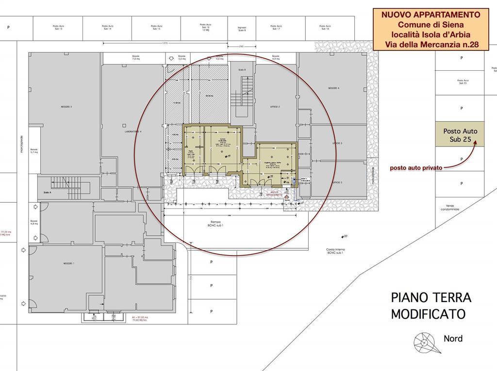 Soluzione Indipendente in vendita a Siena, 2 locali, prezzo € 1.000 | Cambio Casa.it