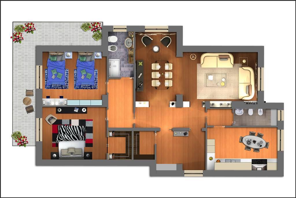 Appartamento in vendita a Lamezia Terme, 5 locali, zona Zona: Nicastro, prezzo € 90.000 | Cambio Casa.it