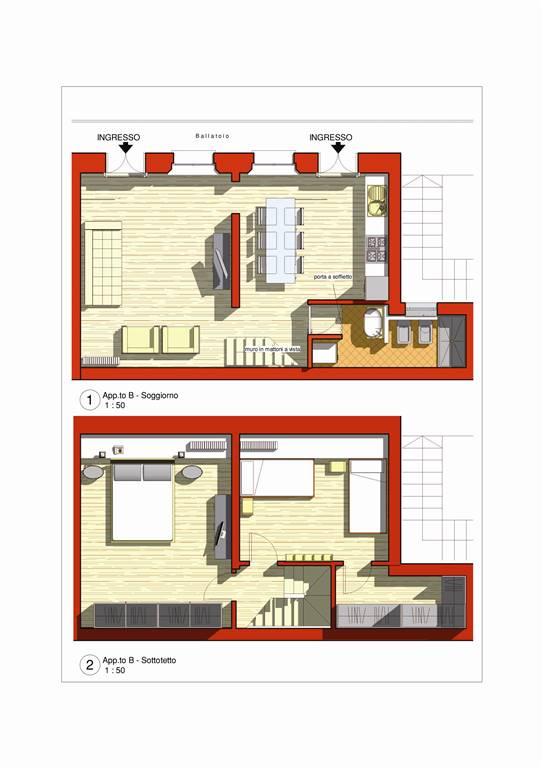 Appartamento in affitto a Legnano, 3 locali, prezzo € 700 | CambioCasa.it