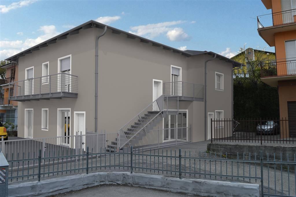 Alba nei pressi della chiesa della Moretta vendesi in piccolo stabile di nuova costruzione alloggio di circa 100 mq, al piano terreno con giardino di