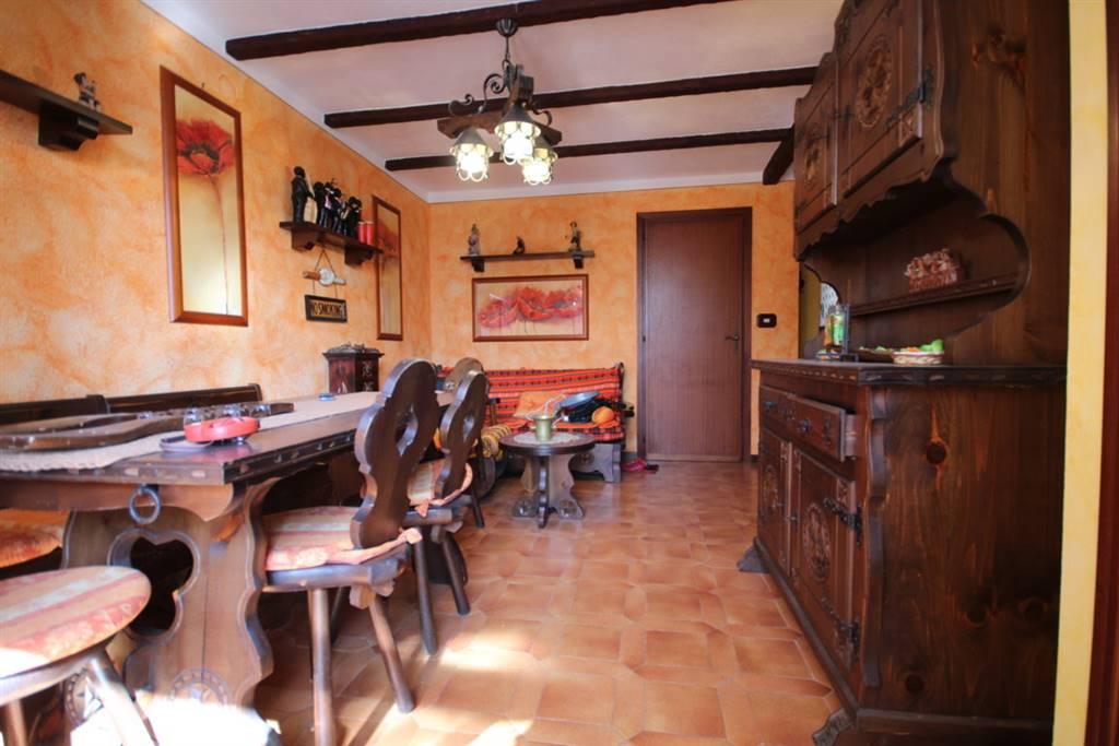 Vendesi in piccola e ben tenuta palazzina alloggio di circa 60 mq, composta da ingresso su soggiorno, cucinino, camera da letto matrimoniale con
