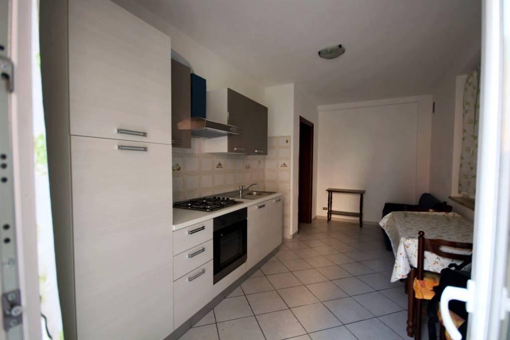 Diano D'Alba frazione ricca affittasi al piano terra alloggio arredato, composto da ingresso su soggiorno con angolo cottura, camera da letto