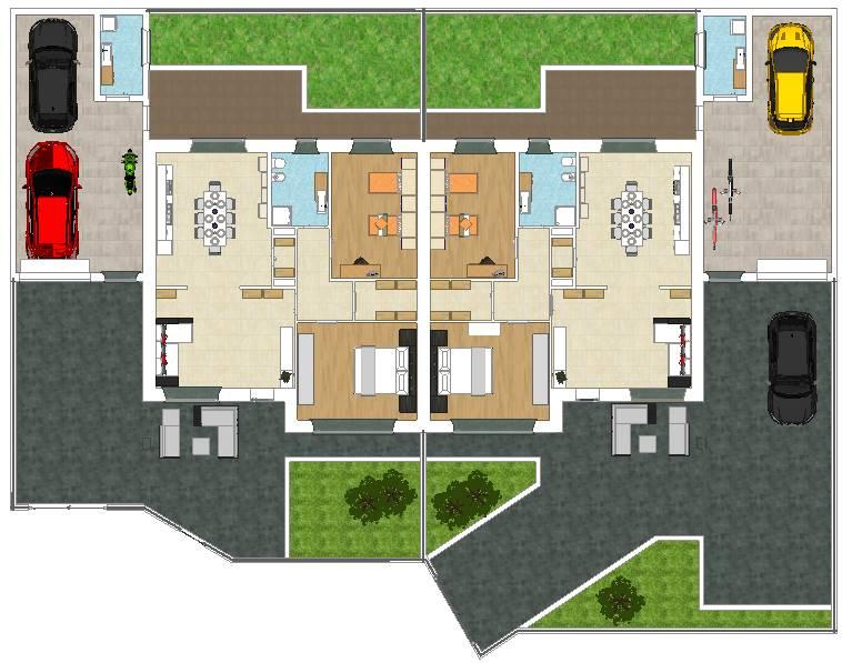 Villa Bifamiliare in vendita a Brembio, 3 locali, prezzo € 185.000   CambioCasa.it