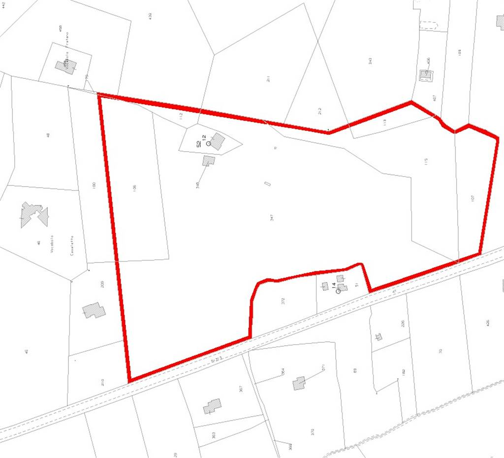 mappa terreno