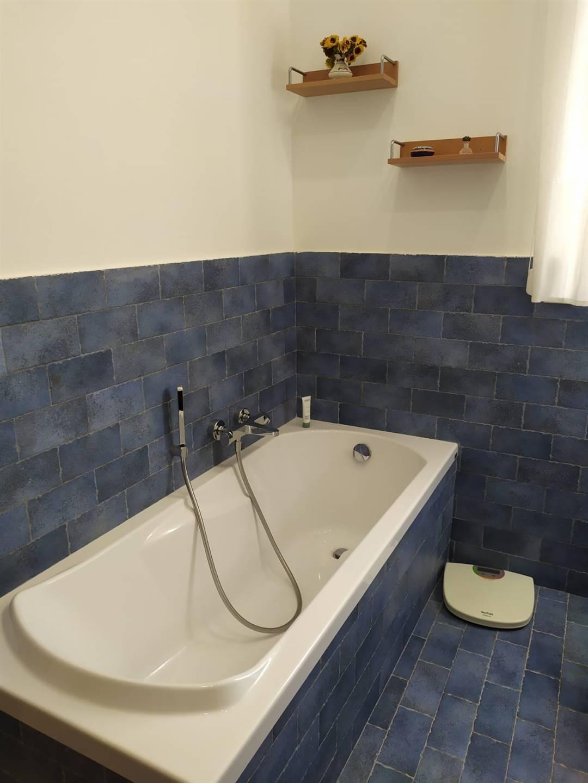 Particolare della vasca da bagno