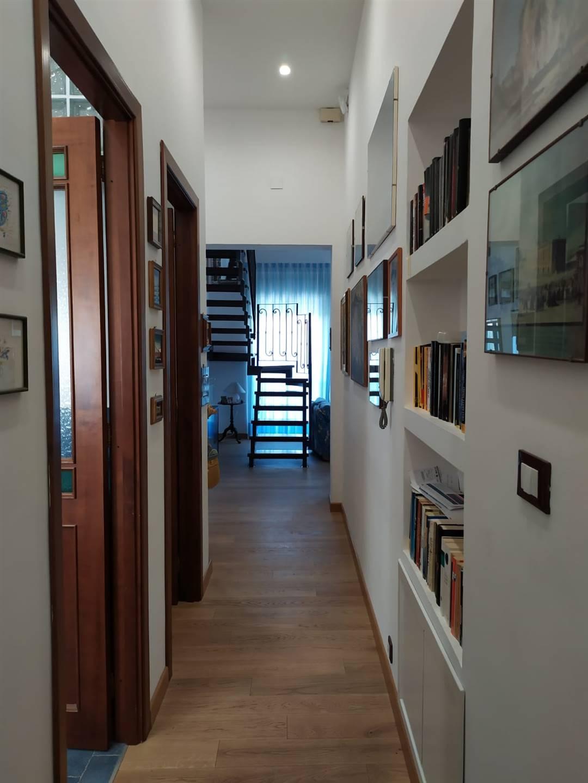Corridoio visto dal fondo