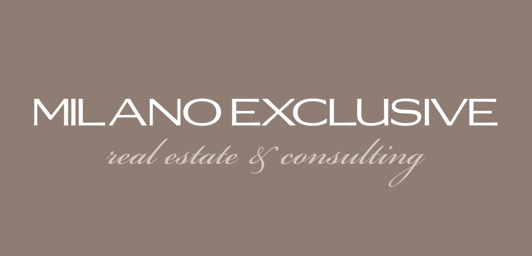 MILANO EXCLUSIVE, Real Estate & Consulting