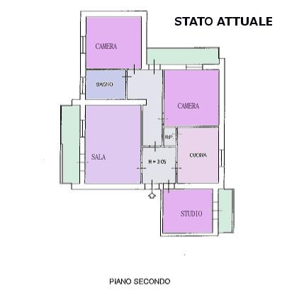 Appartamento, Tribunale, Grosseto, da ristrutturare