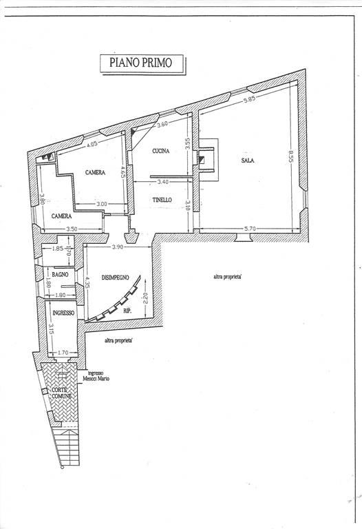 Planimetria Montisi