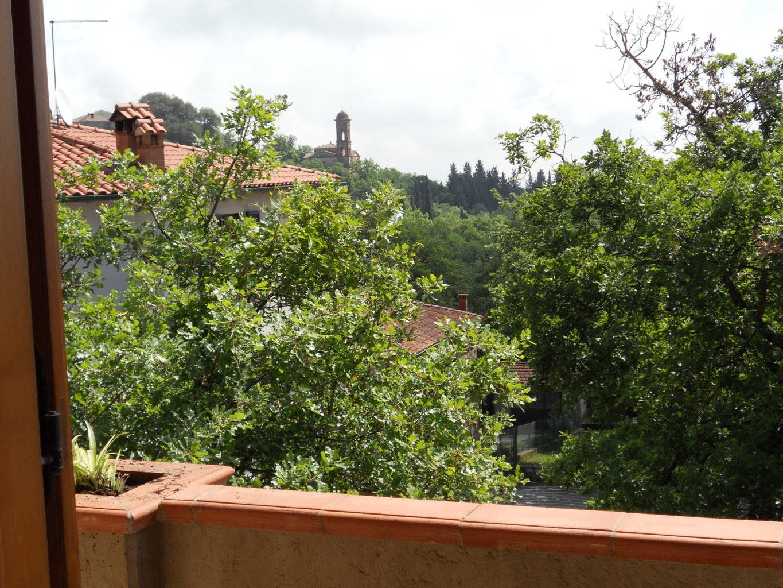 Vista da uno dei terrazzi al piano secondo