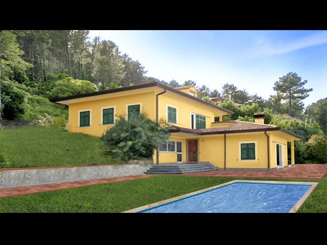 Villa, Montemarcello, Ameglia, seminuova