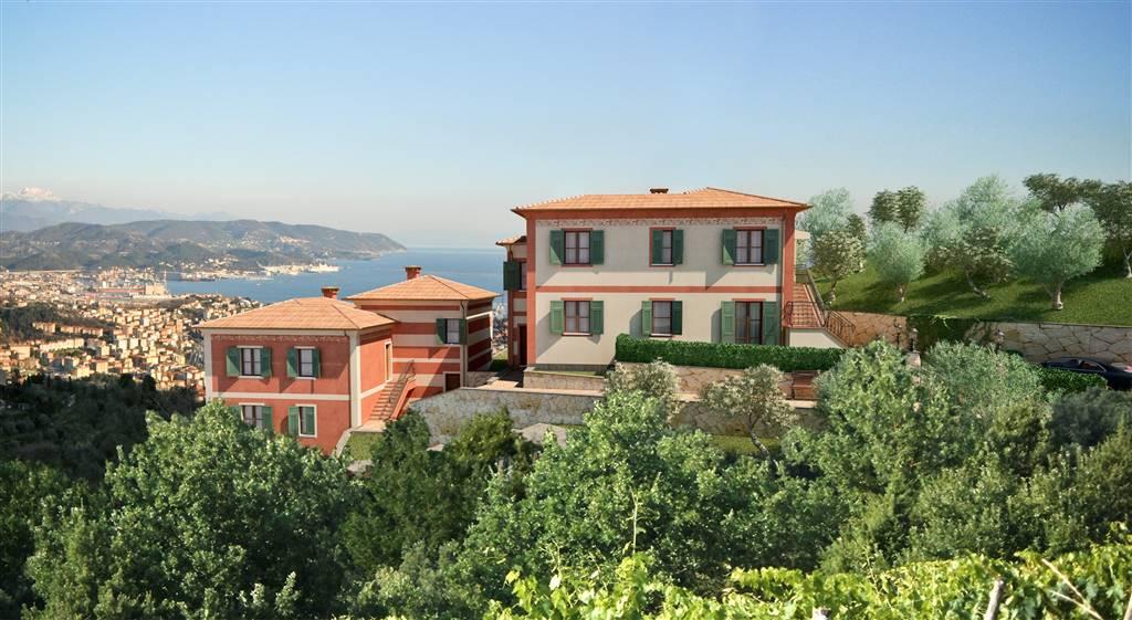 Casa semi indipendente, La Foce, La Spezia, in nuova costruzione