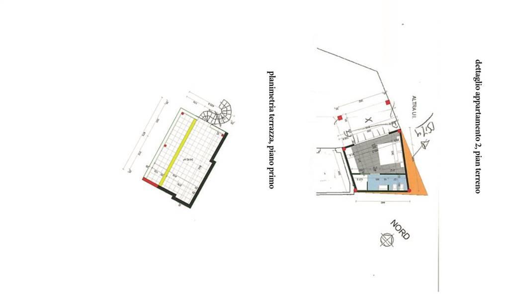 Planimetria 2°appartamento