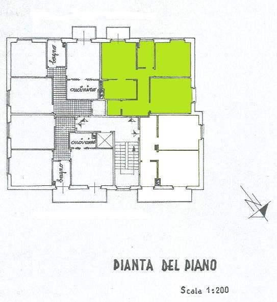 Trilocale, Centro, La Spezia, da ristrutturare