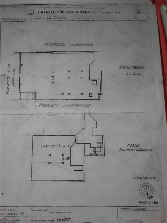 Immobile Commerciale in affitto a La Spezia, 1 locali, zona Zona: Canaletto, prezzo € 1.200 | CambioCasa.it