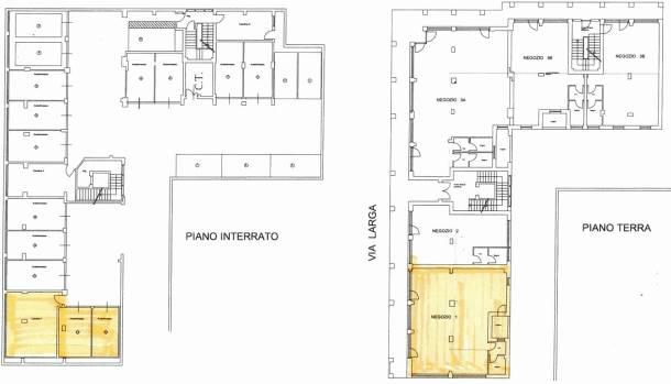 CALENZANO, Boutique des vendre de 129 Mq, Nouvelle construction, Classe Énergétique: A, par terre Terrains, composé par: 1 Local, 1 Bain, Prix: € 460