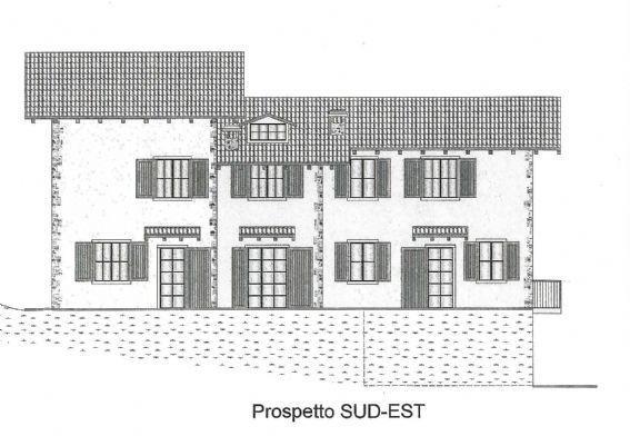 Villa a schiera, Frassineto, Riolunato, in nuova costruzione