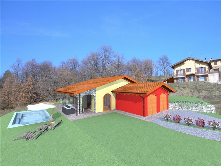Casa singola, Polinago, in nuova costruzione
