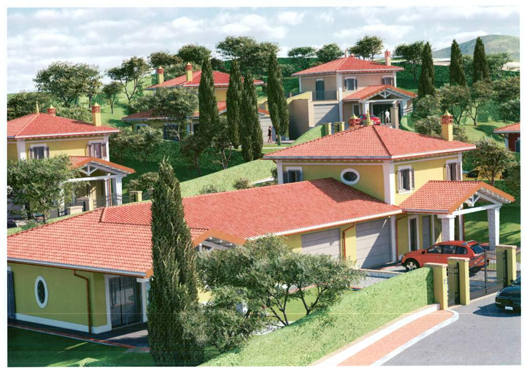 Villa, San Gemini, in nuova costruzione