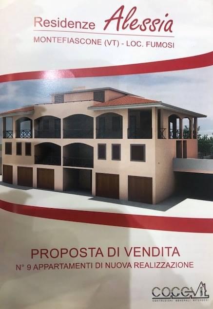 Trilocale, Montefiascone, in nuova costruzione