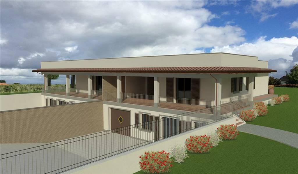 Villa, Periferia, Viterbo, in nuova costruzione