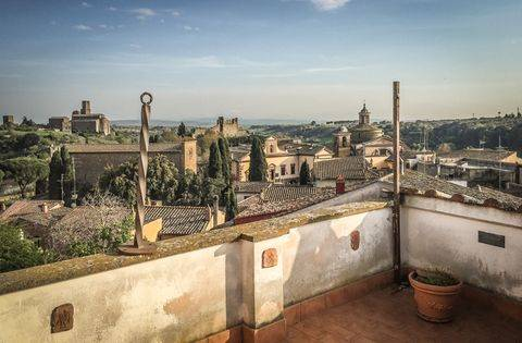 appartamento terrazzo panoramico vende tuscania