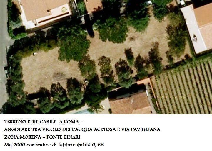Terreno Edificabile Residenziale in vendita a Roma, 9999 locali, zona Zona: 14 . San Giovanni, Re di Roma, P.ta Metronia, prezzo € 650.000 | CambioCasa.it