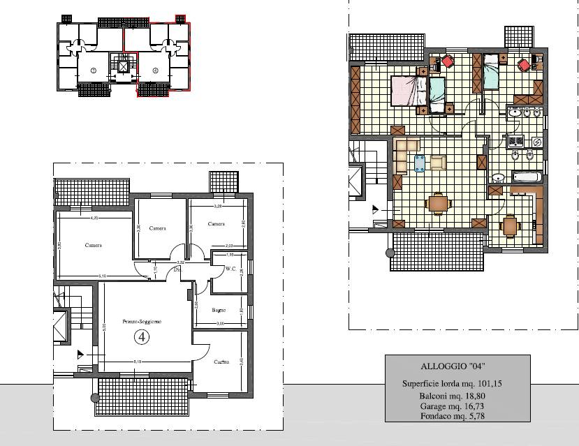Appartamento in vendita a Roseto degli Abruzzi, 5 locali, zona Zona: Cologna Spiaggia, prezzo € 157.000 | CambioCasa.it