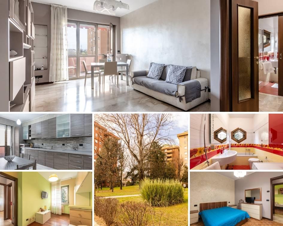 CINISELLO zona Bellaria: all'interno del Residence Parco dei Fiori, dotato di vasto parco condominiale con area giochi per bambini, proponiamo in vendita appartamento di TRE LOCALI in ottime
