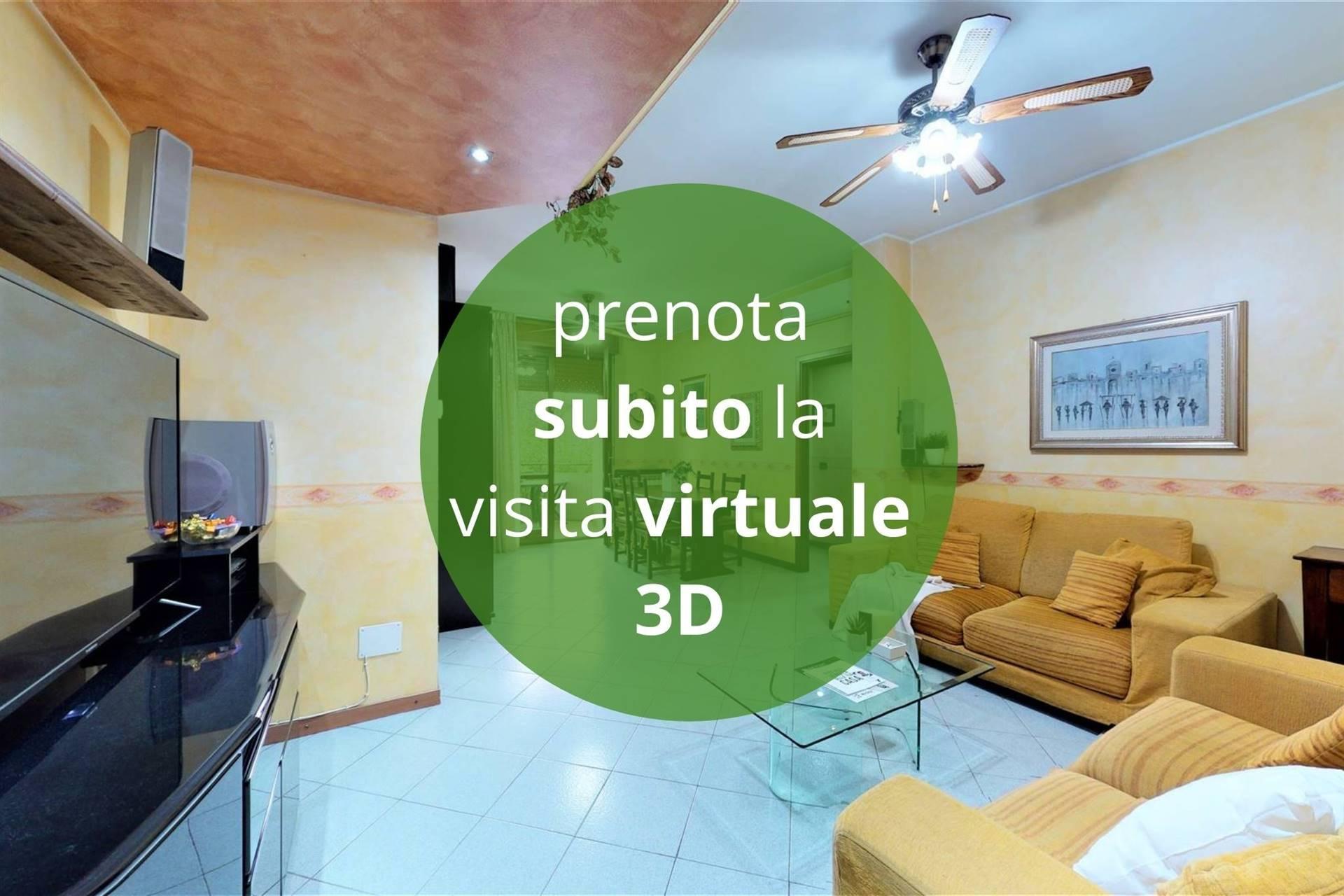 Cinisello zona BELLARIA, in piccolo contesto SENZA BARRIERE ARCHITETTONICHE, proponiamo in vendita appartamento di 3 LOCALI. L'unità è dotata di Aria