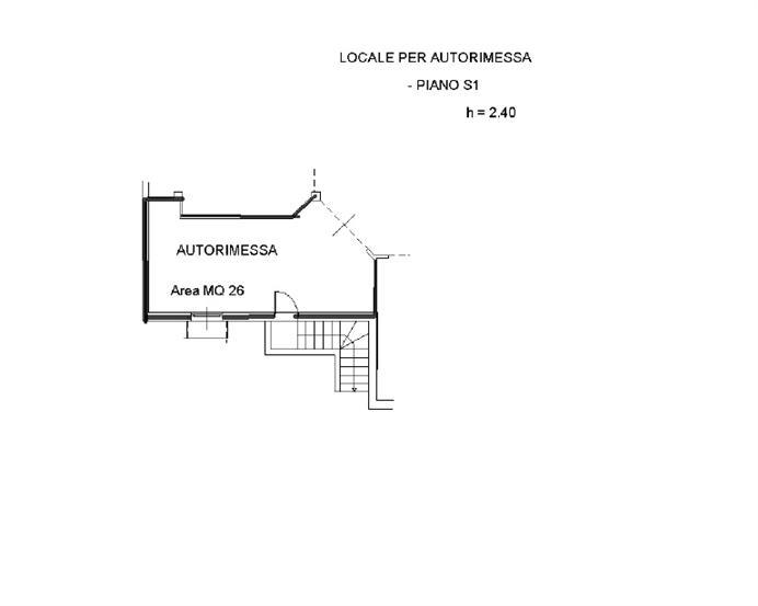 Vendita villa a schiera via aia del popolo 1 for Progettista del piano terra del garage