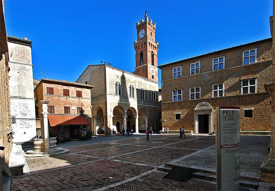 Appartamento in Piazza Pio Ii 1, Pienza