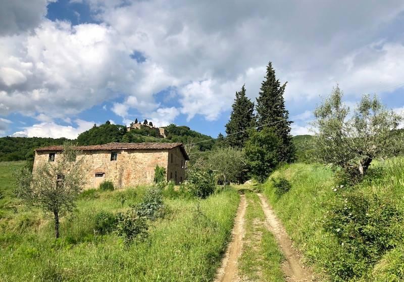 Colonica, San Polo In Chianti, Greve In Chianti, da ristrutturare