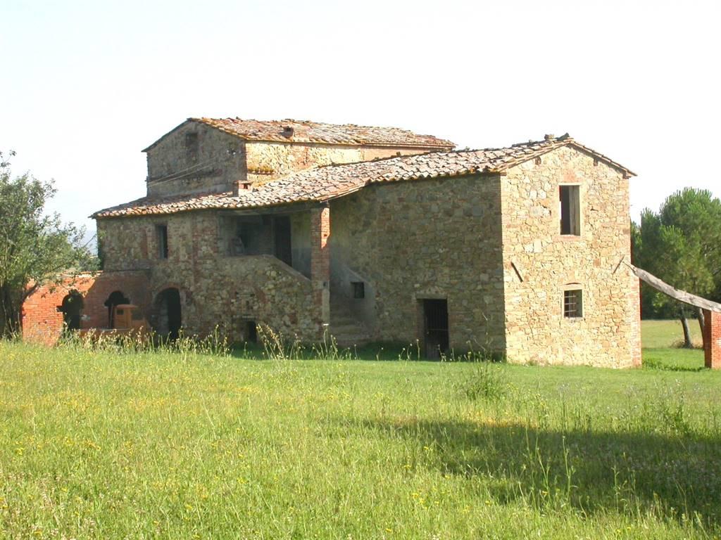 Rustico casale, Pieve Vecchia, Lucignano, da ristrutturare