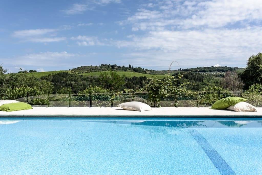 Villa, Montespertoli, ristrutturata