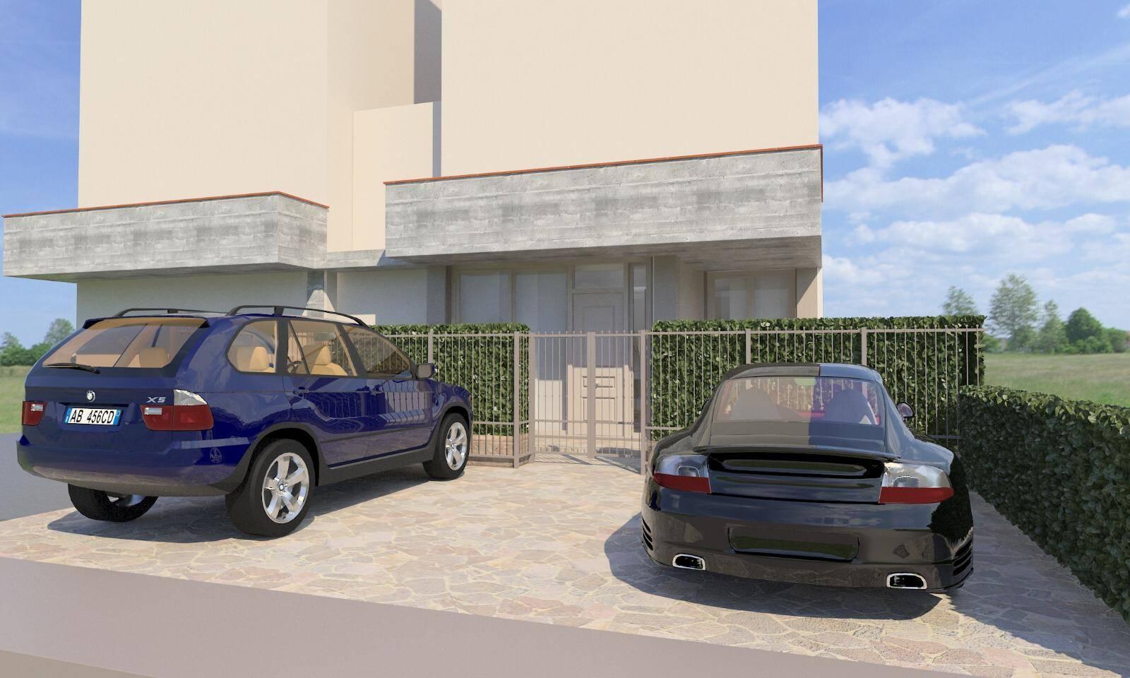 Parcheggio esterno 2 posti auto
