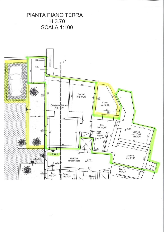 Appartamento 1 - Piano terra