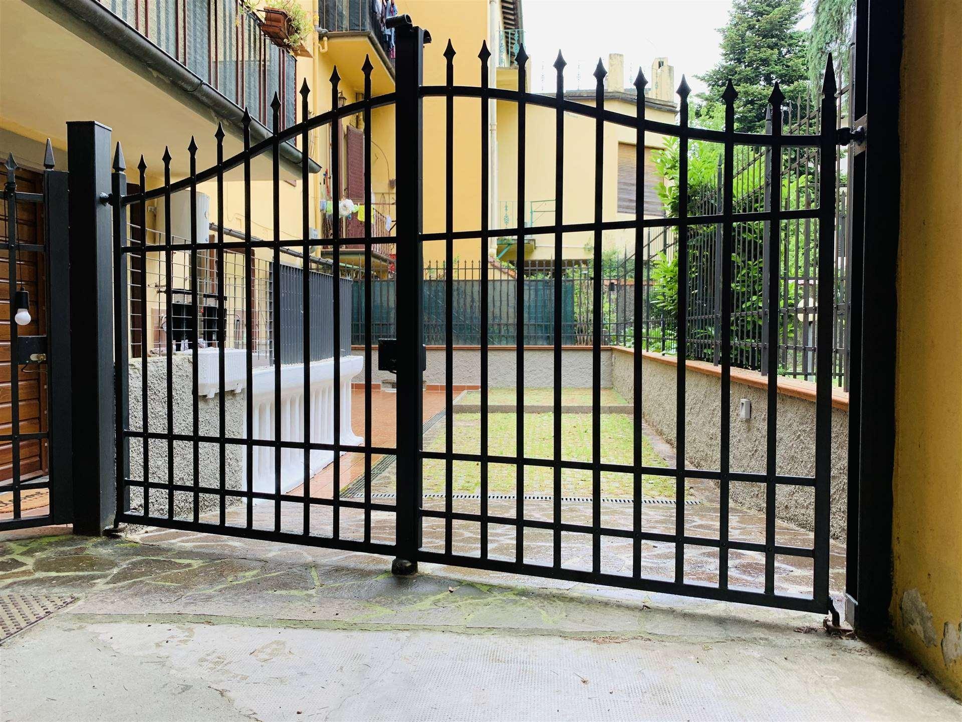 Cancello ingresso resede