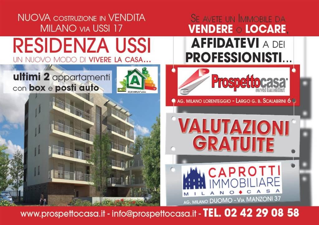 Trilocale in Ussi 17, Greco, Monza, Palmanova, Milano