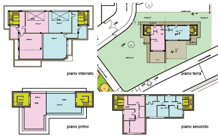 planimetria superficie commerciale - Rif. mosud4c