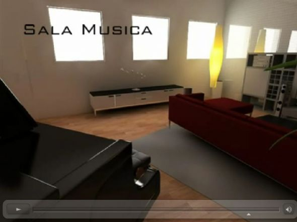 sala musica nel seminterrato - Rif. mosud4c