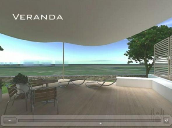veranda su soggiorno - Rif. mosud4c