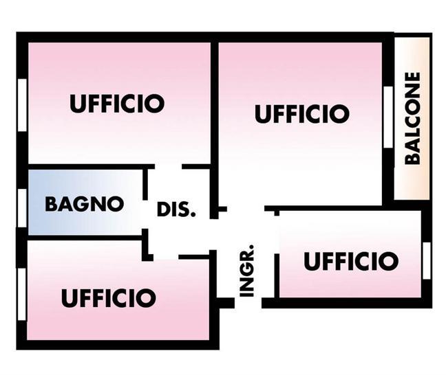 Ufficio, San Faustino, Modena, ristrutturato