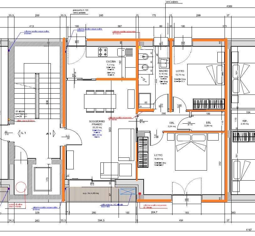 Trilocale, Villaggio Artigiano Modena Nord, Modena, in nuova costruzione