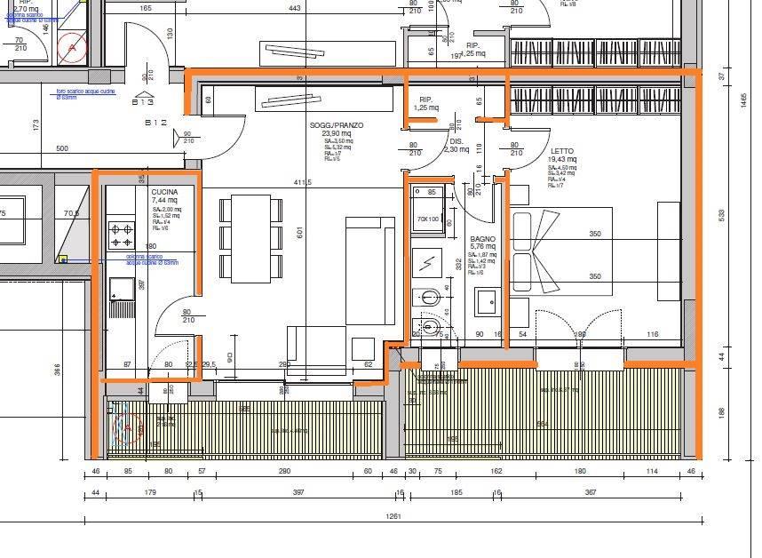 Bilocale, Villaggio Artigiano Modena Nord, Modena, in nuova costruzione
