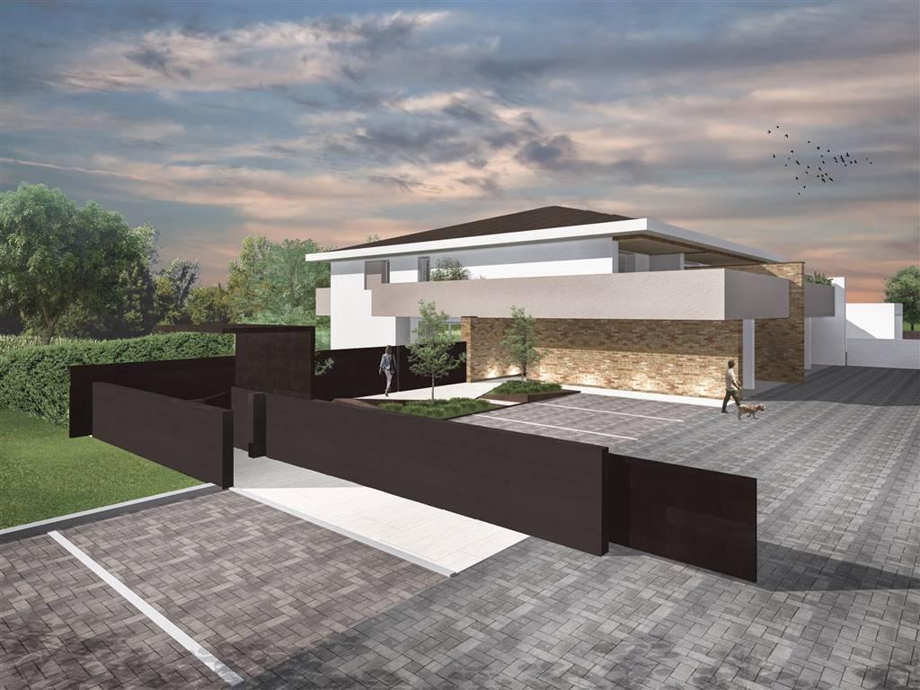 In esclusivo quartiere residenziale, in piccolo residence, stupendo appartamento ATTICO al piano primo ed ultimo su palazzina di sole 4 unità